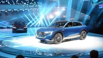 Audi's e-tron quattro electric SUV: 310 mile range, arrives in 2018