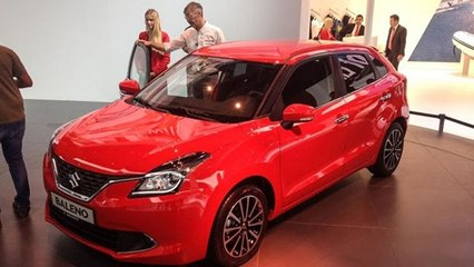 Maruti Suzuki Baleno unveiled at Frankfurt Motor Show 2015