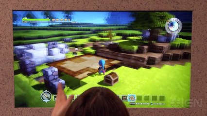 18 minutes de gameplay - TGS 2015 de Dragon Quest Builders