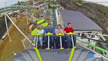 Amazing Mars | Riders get caught doing THIS during crazy coaster ride