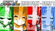 Castle Crashers - Save The Princess! (Castle Crashers Lets Play Part 1) - By J&S Games!