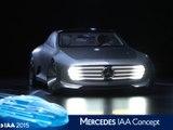 Mercedes Concept IAA en direct du salon de Francfort 2015