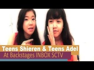 Teens Shieren & Teens Adel @BackStage INBOX SCTV