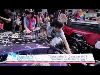 Teenebelle at Dahsyat RCTI - Kompetisi mencuci Mobil Buggy