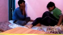 funny slaping with brother at home