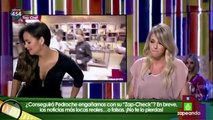 Anna Simon se vuelve loca imitando a María, de 'Top Chef'