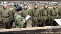 18-19-year-old Russian conscripts training on the T-90
