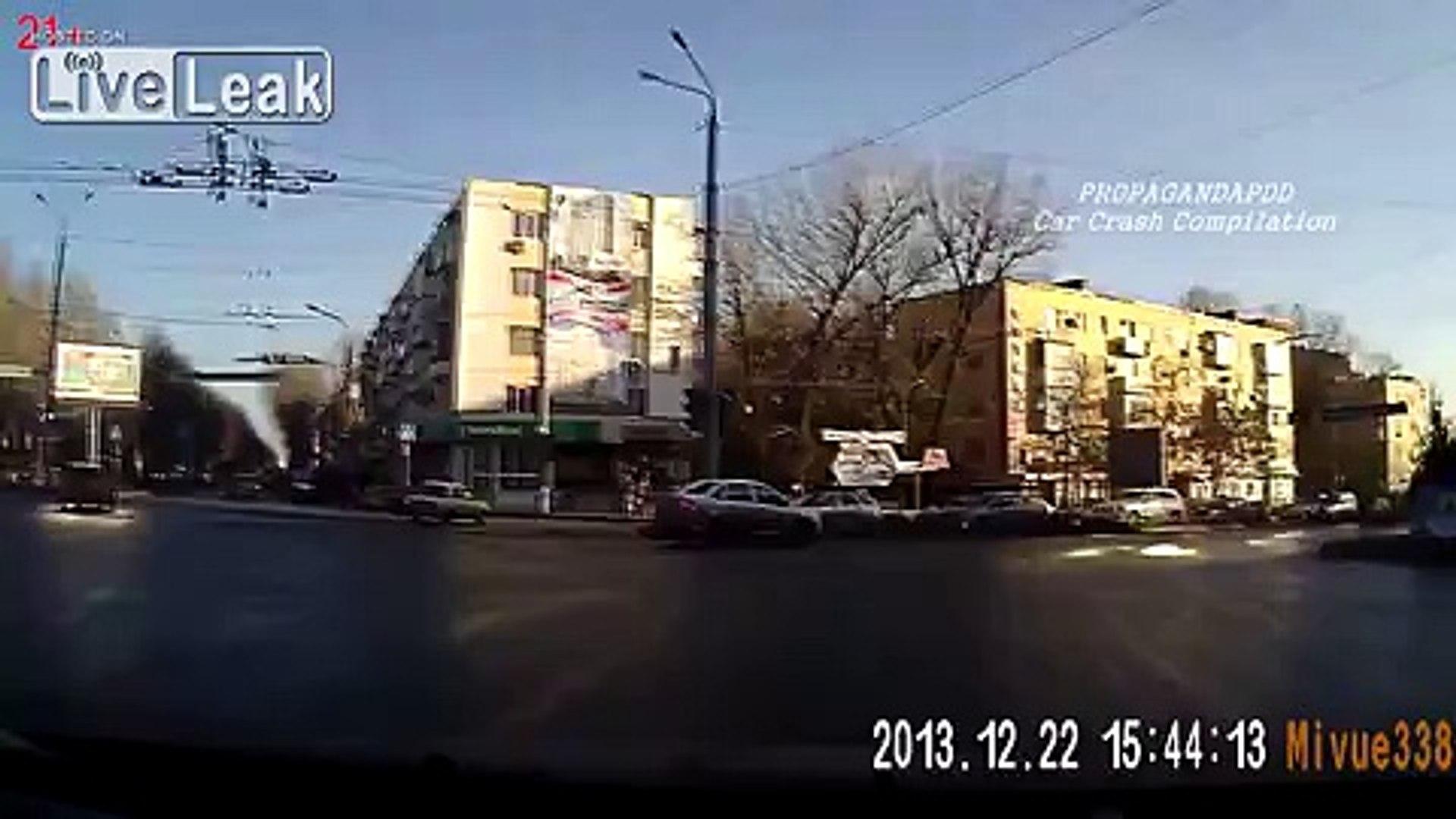 Russia. Car crash compilation №159 Подборка Аварии И ДТП Декабрь 2013