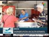 Grecia: todo listo en Atenas para el cierre de campaña de Syriza