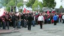 SRFC/LOSC : Arrivée des joueurs et inauguration du Roazhon Park