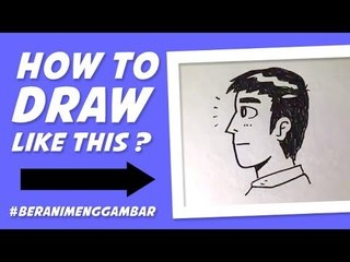 How to Draw the Head of a Guy from Side View