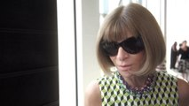 Vogue Fashion Week - Vogue's Anna Wintour Shares Her Impressions of New York's Spring '16 Shows
