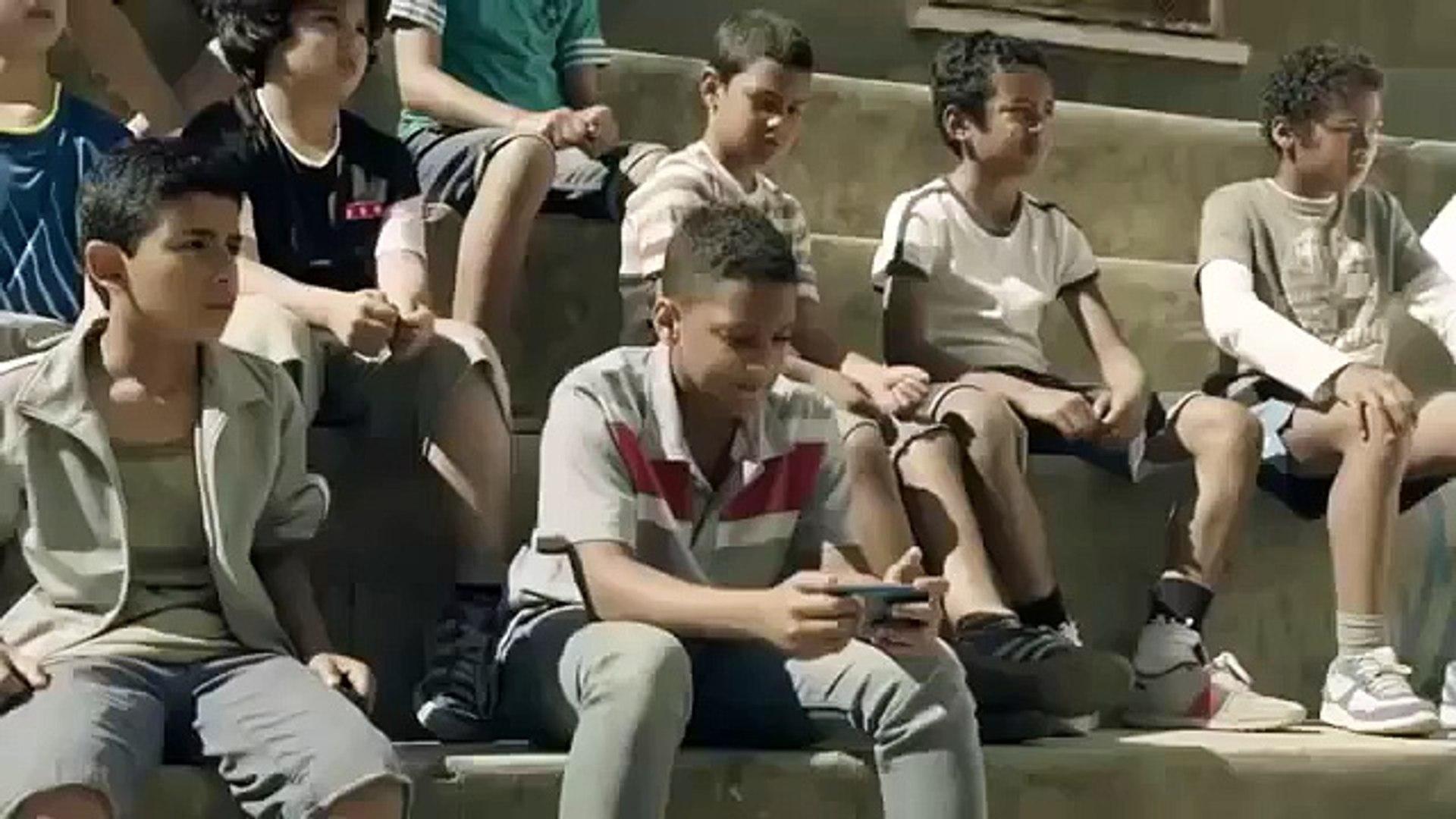 Messi vs Kids playing football