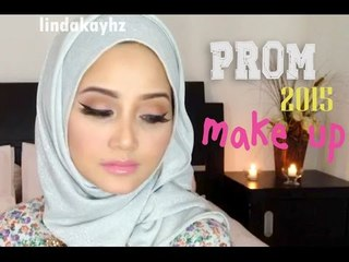 Prom 2015 Makeup Tutorial (Feat. baby and kids voices) | Indonesia | Linda Kayhz |