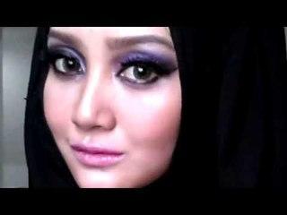 purple smokey eye + beauty class jakarta info | Make Up Indonesia