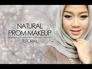 Natural Glam Prom Makeup Tutorial | Cheryl Raissa - Collaboration with Indonesian Beauty Vlogger