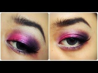 Makeup Tutorial : Dramatic Purple