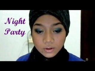 Makeup tutorial - Night Party [Blue Eye Makeup]