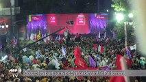 Grèce: dernier meeting de Syriza avant les élections