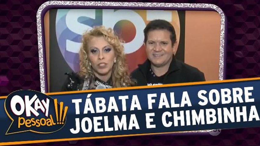 Tábata fala sobre vídeo bizarro de Joelma e Chimbinha