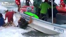 Biggest Teahupoo Waves vs. Surfers