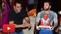Salman Khan's Ganpati Visarjan 2015   Salman Dancing At Ganpati Visarjan   #LehrenTurns29