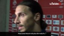 PSG. Zlatan Ibrahimovic : « Je suis là ! »