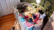 Il fabrique une machine pour bercer son bébé qui pleure... Fail, le bébé continue de pleurer!
