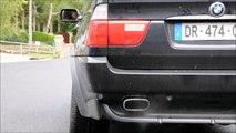 BMW X5 4.8is, acceleration V8 engine sound