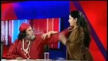 Funny Punjabi Dubbing Tezabi Totay Deepa Sharma Slaps Baba Om Ji