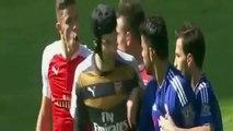 Diego costa fight Laurent Koscielny & Gabriel Paulista - Chelsea vs Arsenal [19.9.2015] EPL