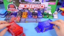 Transformer l'Amérique de la carte Mega Gare, s'il vous plaît, Bonjour la voiture robot drain de puissance de base de l'Aéroport de Reno, jouets vidéo Tournant Mecard auto Transformer la Voiture jouets
