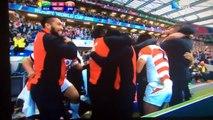 Coupe du monde de rugby : l'essai historique du Japon face à l'Afrique du Sud