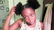 6 Quick & Easy Hairstyles for Natural Hair | GloriaEzeChude