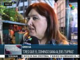 Grecia: Syriza cierra campaña electoral con un mitin en Atenas