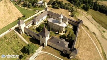 Mănăstirea Dragomirna (filmare aeriană)
