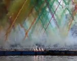 Wonderful Art on air with Fire work must see and share this amazing video