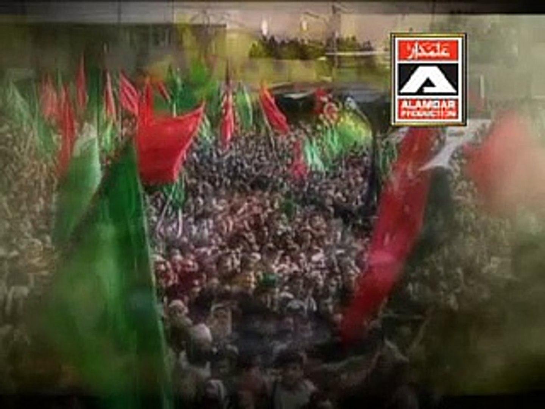 Bhaoon Wakhri Karbala Video Noha by Zakir Hussain Zakir 2012