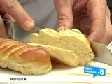 Hot duck - petit pain brioché au foie gras de canard