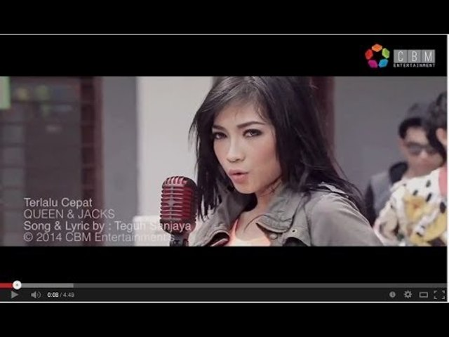 QUEEN & JACKS - TERLALU CEPAT (Official Video Clip)