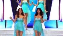 Chutes en série lors de l'élection de Miss Réunion 2015 !