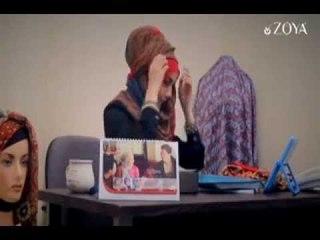 Hijab Tutorial Zoya Terbaru - Kerudung Glans Style | Beauty Hijab Tutorial