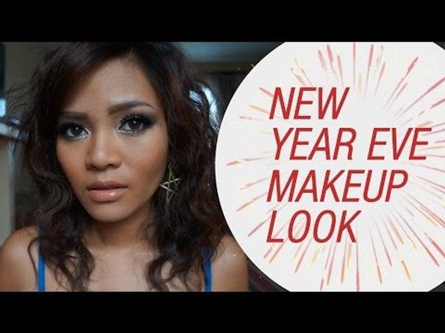 New Year Eve Makeup Tutorial by Rachel Goddard