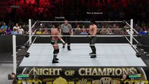 Night Of Champions 2015 [Seth Rollins vs CM Punk - WEVO Championship]