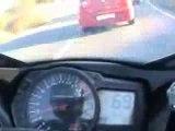 Voiture Vs Moto - Accident - Crash