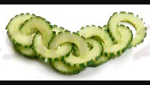 021. Free vegetable carving course cucumber chain - Darmowy kurs carvingu
