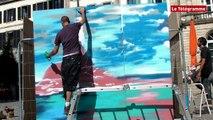 Quimper. Fresque à 360° sur la Bretagne au coeur de la ville