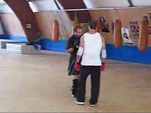 Ving Tzun vs Kickboxen Sparring Wing Chun Kung Fu WT Tsun