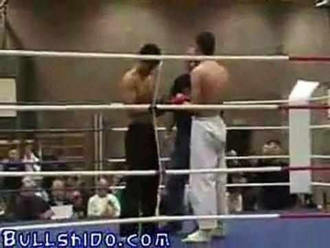Wing tsun guy vs karate guy
