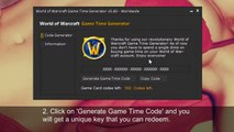 Free World of Warcraft Game Time Generator 2015 [New + Updated]